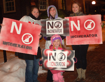 Bristol, PA residents protest hazardous waste incinerator