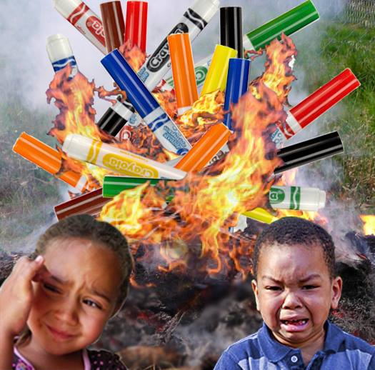 Crayola ColorCycle program: Burning markers is NOT recycling!