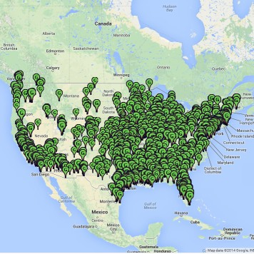 Energy Justice Map - Map of all nuclear power plants in the us