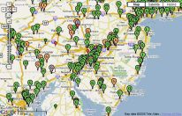 Energy Justice Map - Power plants in the us map